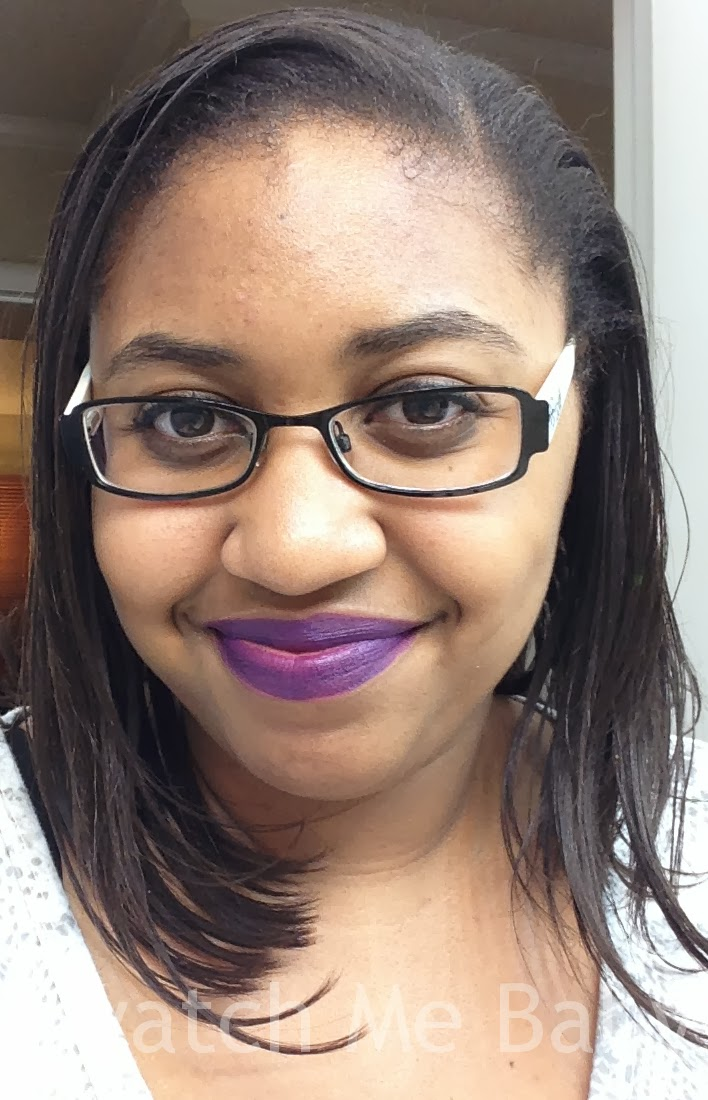 coloured raine arabian night lip swatch