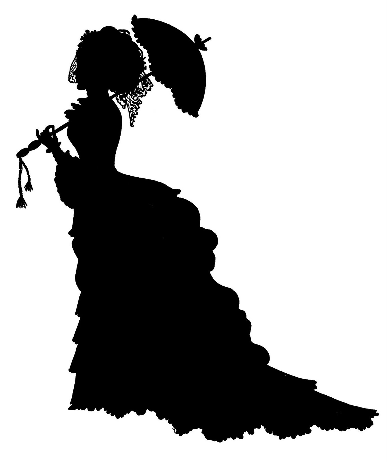 Victorian Silhouette Head | www.imgkid.com - The Image Kid ...
