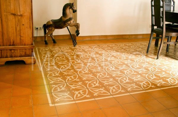 Mosaico Zementfliesen Jugendstil Ausdruck Einer Neuen Zeit