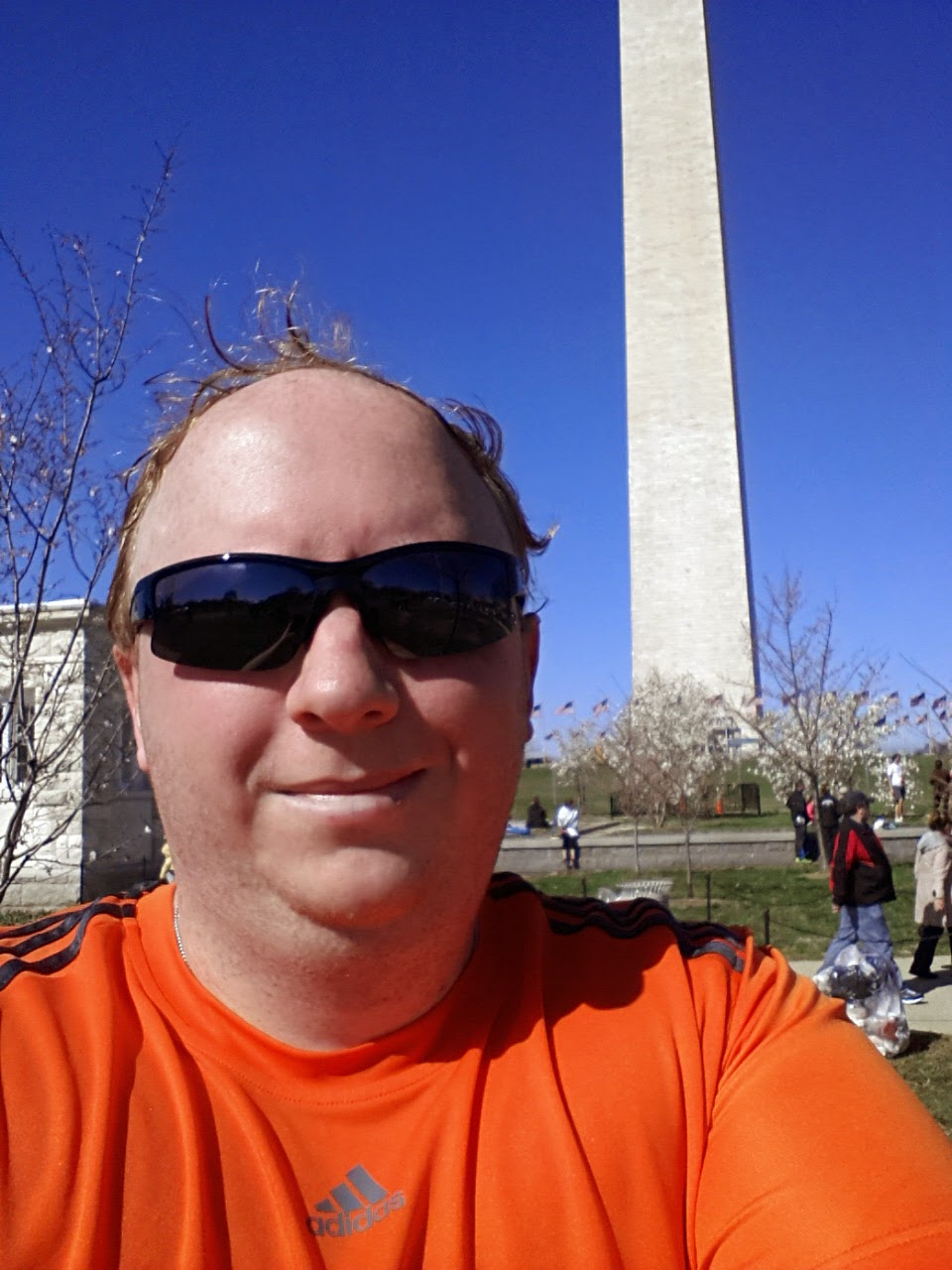 After the Cherry Blossom 10 Mile Run