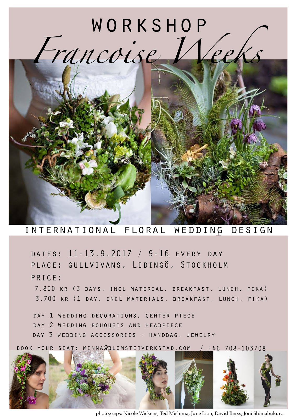 Florist workshop