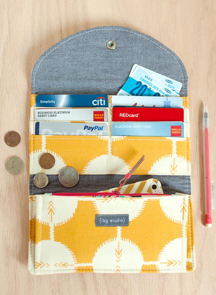 have it all wallet pattern. . . : LBG STUDIO