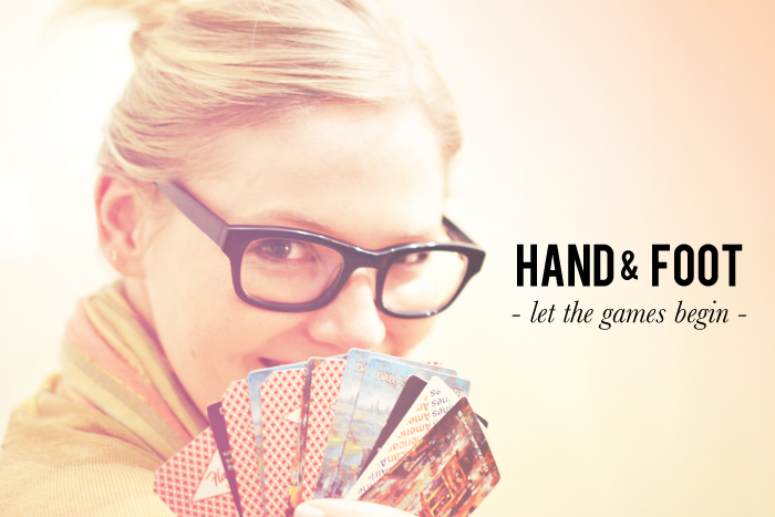 Hand And Foot Card Game  Free Printable  Triple Max Tons