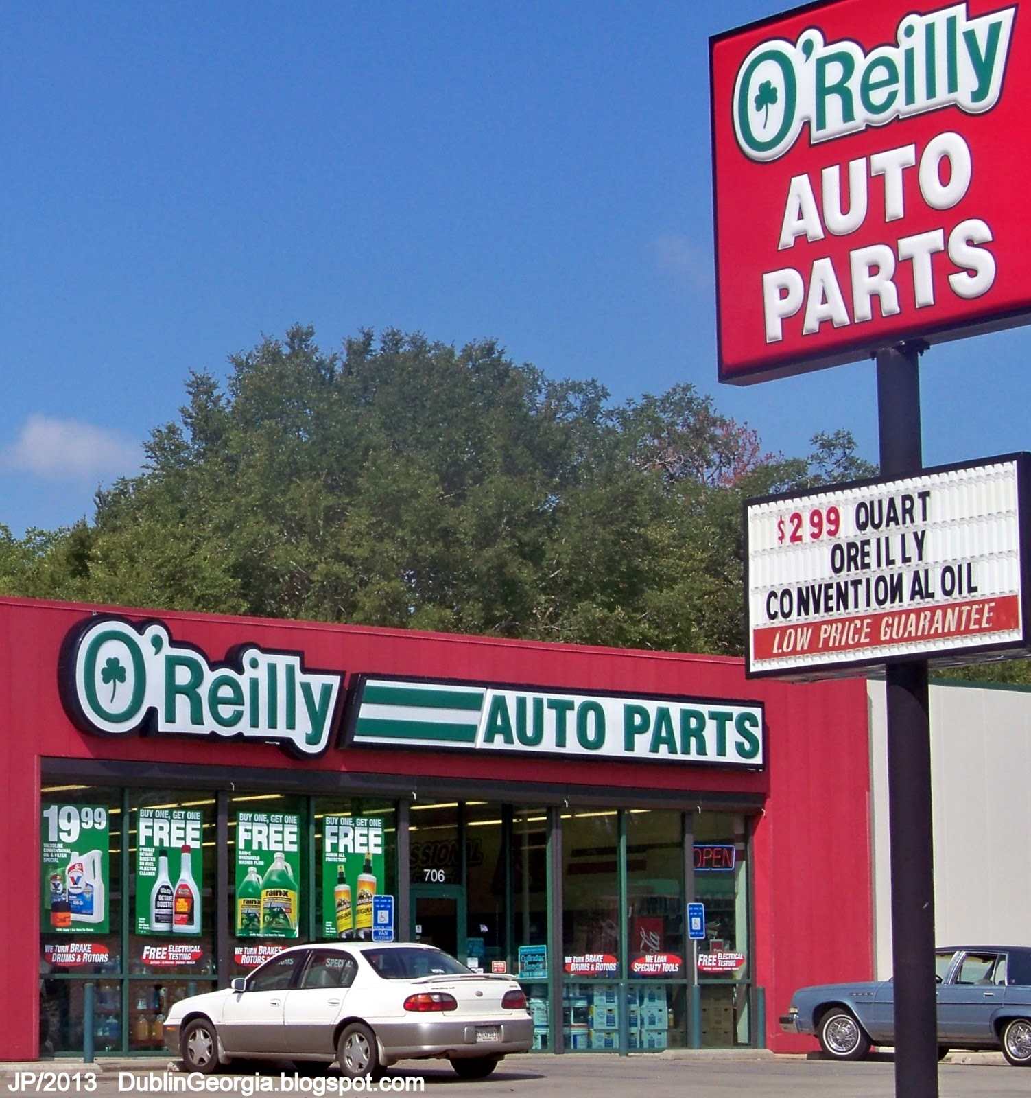 O reilly auto parts store dublin georgia north jefferson st o reilly auto parts laurens county dublin ga automotive truck parts o reilly auto parts