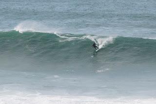 Big waves Newquay
