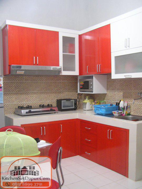 Tukang kitchen set bogor harga murah hub 0812 8899 3791 for Kitchen set harga per meter