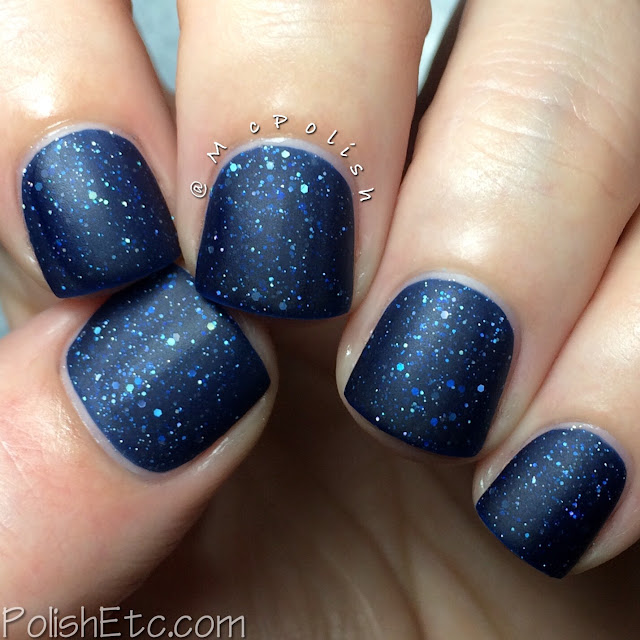 KBShimmer Fall 2015 Collection - Carpe Denim - McPolish matte