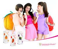 manfaat yoghurt heavenly blush
