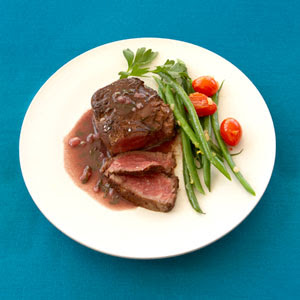 Filet Mignon with Red Wine Sauce. There's nothing quite like a ...