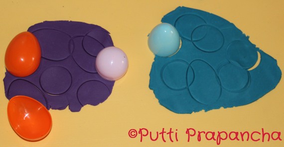 playdoh easter eggs