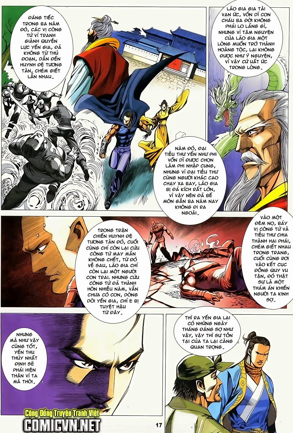 Cổ Long Quần Hiệp Truyện chap 84 Trang 17 - Mangak.info