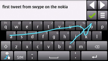 Swype for Nokia N8 now available at the Ovi Store