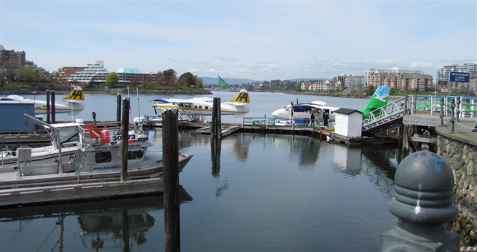 how to get from vancouver airport to victoria island