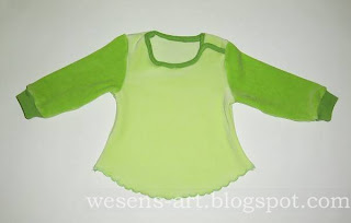 Baby Sweater Tutorial 15    wesens-art.blogspot.com