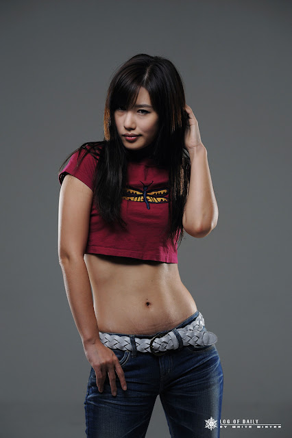 5 Song Jina in Purple-Very cute asian girl - girlcute4u.blogspot.com