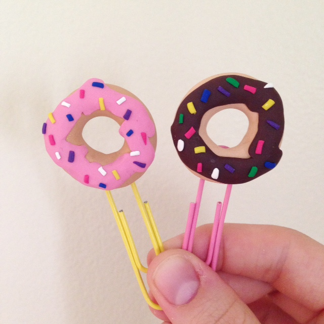 donut bookmark