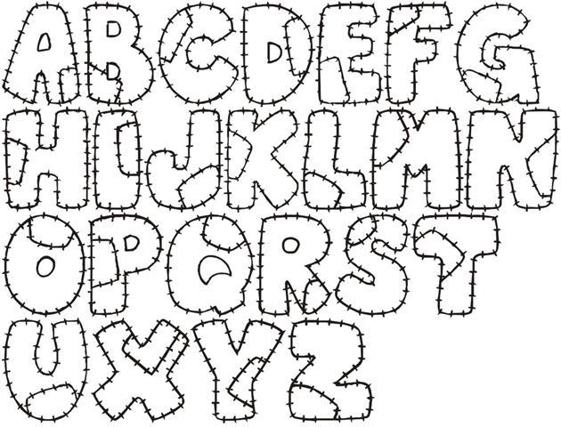 Como hacer letras minusculas en fomi - Imagui