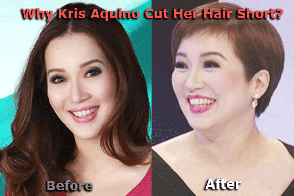 Reason Why Kris Aquino Cut Her Hair Short?