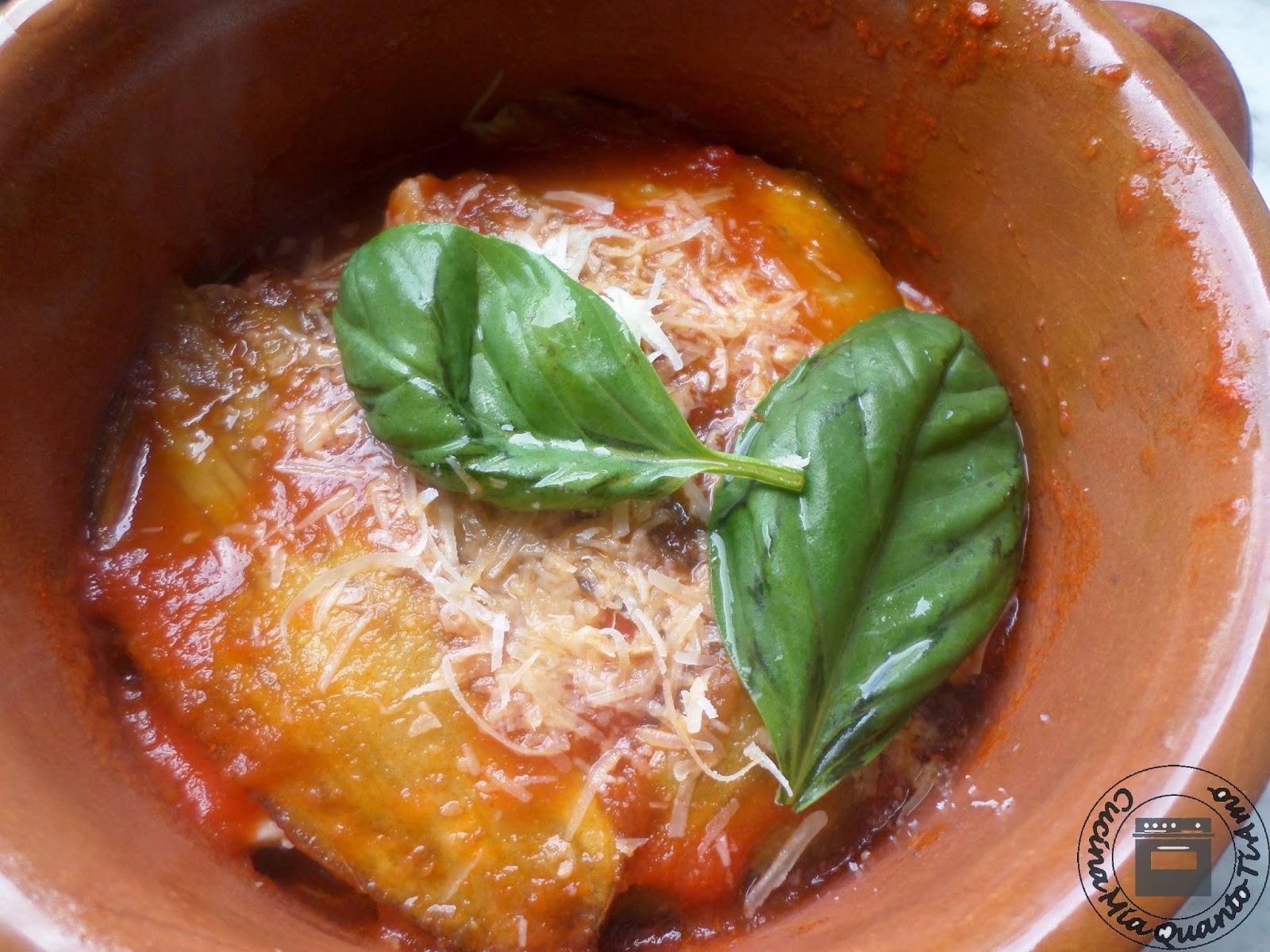 Parmigiana senza uova