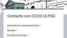 Contactar con CCOO-ULPGC