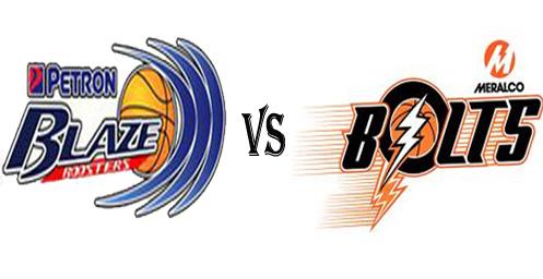 PBA 2012-2013 Rain or Shine vs Meralco Bolts