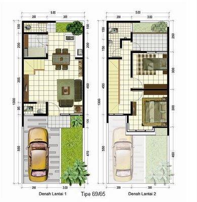 desain rumah lantai 2 on DESAIN RUMAH MINIMALIS | denah rumah | Design rumah idaman
