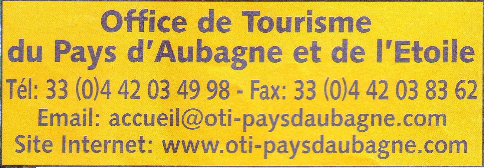 Lettre ouverte circuit pagnol - Office de tourisme aubagne ...