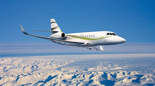 Quintessentially Aviation: Falcon 2000S Jet: Flying BMW