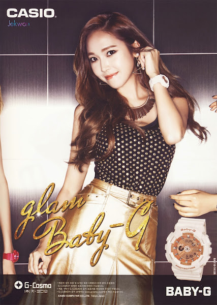 Jessica SNSD Baby-G Glam 2014