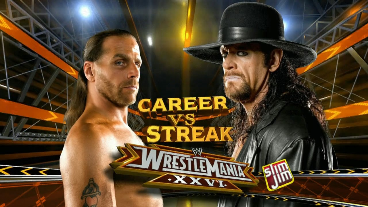 Undertaker vs Shawn Michaels 2