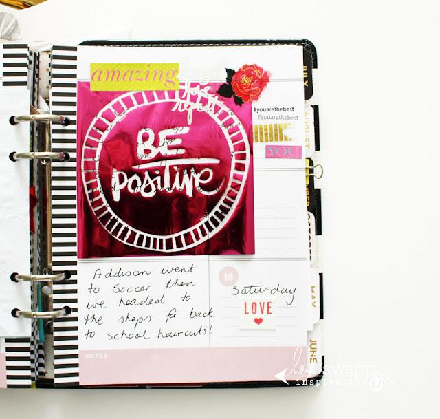 @kimjeffress @heidiswapp #hsmemoryplanner #planner