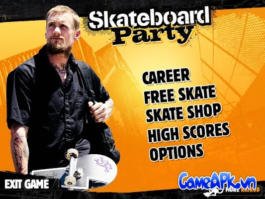 Mike V: Skateboard Party HD v1.32 hack full EXP cho Android
