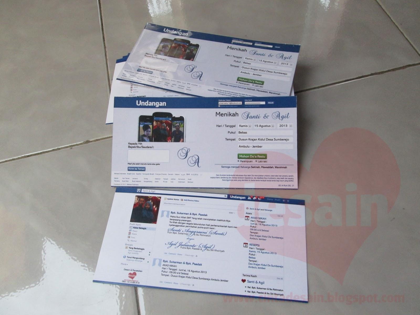 Undangan Model Facebook Format Adobe Photoshop Gratis ~ www.CINTA
