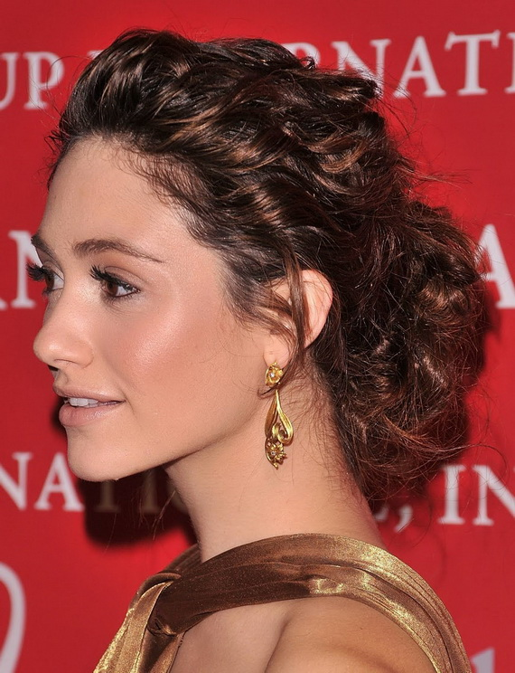 Emmy Rossum perm
