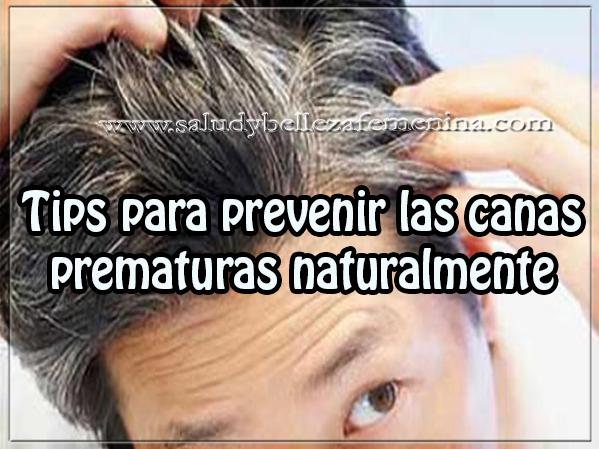 Cuidados del cabello , belleza , tips para prevenir las canas prematuras naturalmente