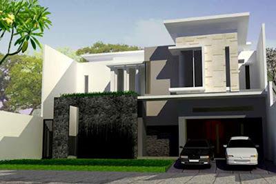 Contoh Gambar Rumah Minimalis Modern - 13