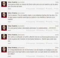 Kiko Rivera llama mala persona a Chavelita su hermana