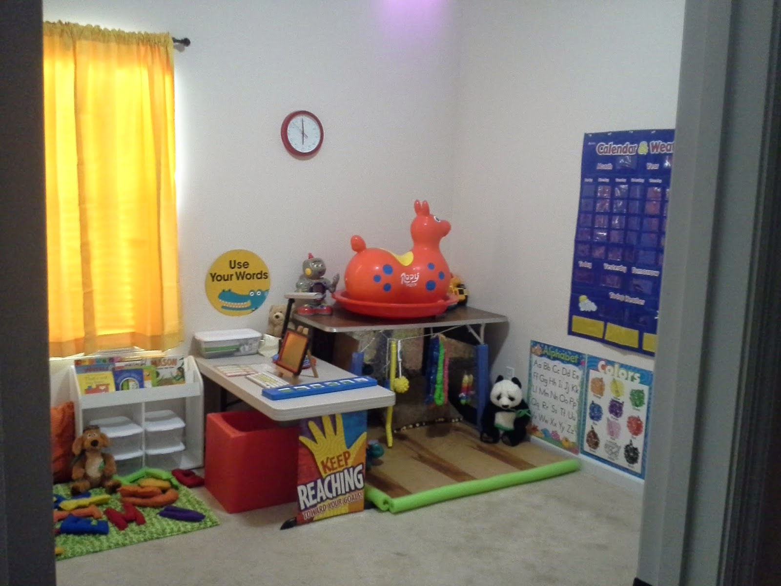 setting up a classroom for deafblind preschooler