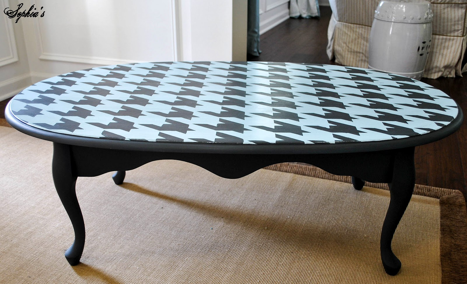 Sophia\'s: Houndstooth Coffee Table
