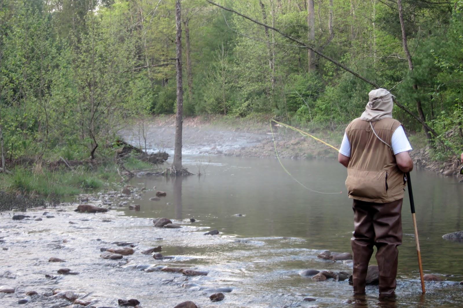 The unlucky hunter trout fishing weekend in staunton va for Washington fly fishing