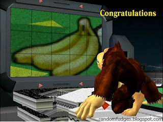 donkey kong melee classic congratulations