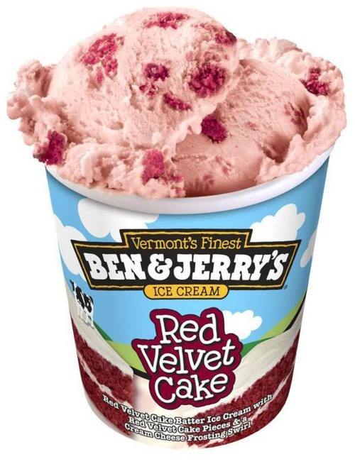 Red Velvet Cake Ice Cream Ben And Jerry S