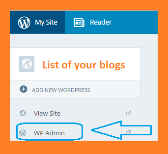 Wordpress Admin Option