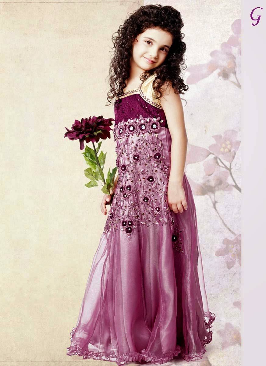 Baby Girls Fashion Purple-color Kids Photos