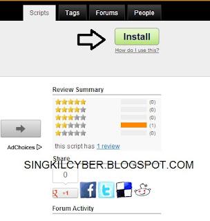 Tips dan Cara Like Ribuan Status Cuma Sekali Tekan ( Google Chrome Only)
