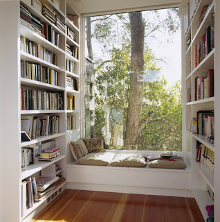 picture of a reading nook