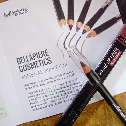 Bellápierre Lip liner beauty box lf beauty box february 2015