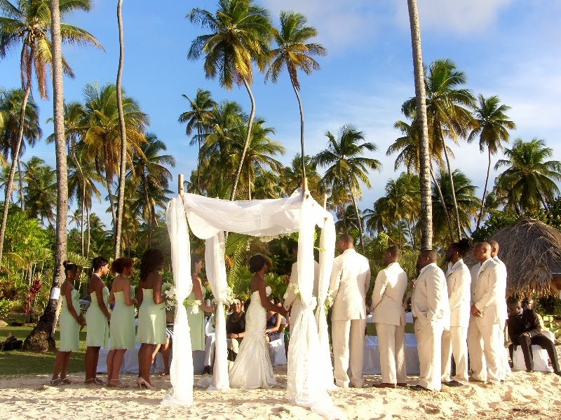 beach weddings in Tobago