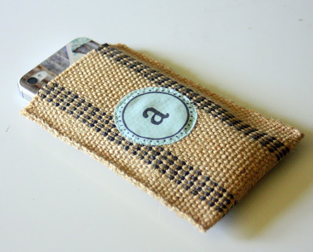 Stamp Camp: Monogrammed Cell Phone Case