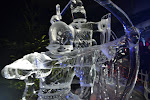 Ice sculpture in London.